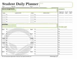 Student Daily Planner You Dont Have To Be In School To Be A