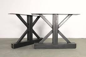 industrial furniture legs. Metal Table Legs,Trestle Style Legs,Industrial Legs,Very Original Stunning Design,Custom Sizes,Handmade In U.S. Industrial Furniture Legs S