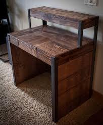 pallet furniture desk. diy recycled wood pallet desk 101 pallets furniture