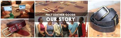 pact leather goods about