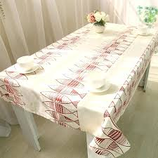 extra large oval tablecloths uk
