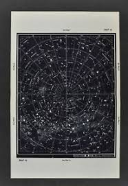 Southern Sky Star Chart Details About 1961 Gall Inglis Star Map Southern Hemisphere Mag 5 Milky Way Sky Chart Cross