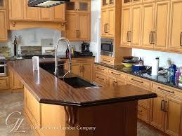 custom sapele mahogany super distressed wood countertops