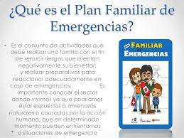 plan de emergencias familiar 4 2 10 plan familiar de emergencias