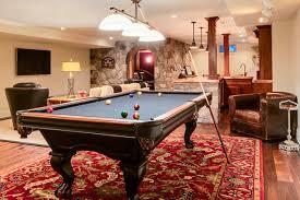 traditional basement by js interiors llc