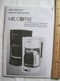 The updated, ergonomic carafe design with ounce markings takes the guesswork out of measuring. Coffee 5 Cup Coffeemaker Tf Series User Instruction Manual Sunbeam Mr Coffee Tea Espresso Makers Patterer Home Garden