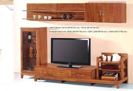 Tv Stand  Bright Country Style Tv Stand Unit Idea In Honey Oak Country Style Shelves