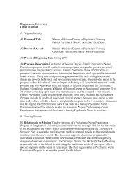 Letter Of Intent University Application Best Graduate School Letter