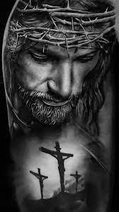 Jesus, black and white, believe, black ...