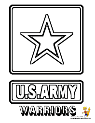 Small Picture Free coloring pages of us army logo LineArt Patriotic