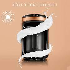 Karaca Hatır Hüps Sütlü Türk Kahve Makinesi Bronz Karaca