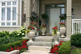 Collection Front Porch Flower Bed Ideas Photos  Best Image LibrariesContainer Garden Ideas For Front Porch
