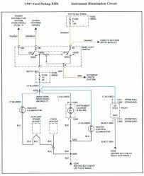 1996 f 350 instrument panal wiring diagram truck forum exterior lighting 1