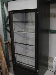 qbd single glass door cooler 2 days use