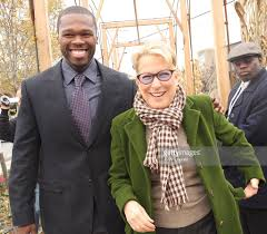 curtis curtis 50 cent jackson and bette midler attend the opening of the curtis