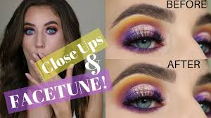 how to take edit eye makeup pictures facetune