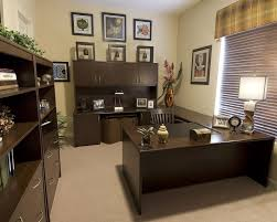 home office decor brown. Office:Stunning Home Office Decor For Men With Brown Wooden Furniture Modern Room Decorating E