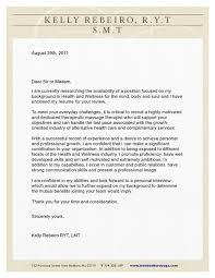 Chiropractic Resume Extraordinary Digication EPortfolio Kelly Rebeiro RYT LMT Cover Letter