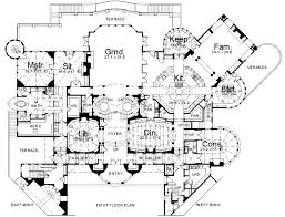 Pittock Mansion Floor Plan 1  Fixed PointsFloor Plan Mansion