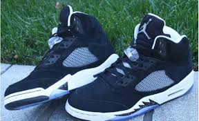 jordan 5 oreo. air jordan 5 oreo aaaa super perfect shoes black white oreo
