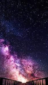 Starry Night Sky Scenery 4K Wallpaper ...