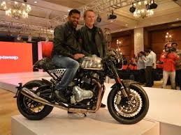 norton motorcycles kinetic to launch norton motorcycles in india