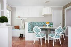 styles of dining room tables. Modern Vintage Style Dining Room Using Marble Table With Sky Blue Upholstered Chairs And Corner Styles Of Tables I