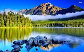 Mountain Lake Wallpapers - Top Free ...