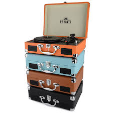 Suitcase With Drawers Revinyl Portable Suitcase Record Player Available At This Is It