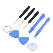 iphone repair kit. 8 in 1 repair pry kit opening tools with 5 point star pentalobe torx screwdriver set for iphone 4 4s 5c 5s-in hand tool sets from home improvement on iphone p