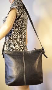 vintage giani bernini soft leather black purse shoulder bag 28 00
