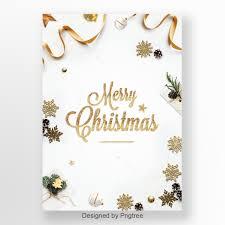 Christmas Design Template Simple White High End Atmospheric Christmas Poster Design Template