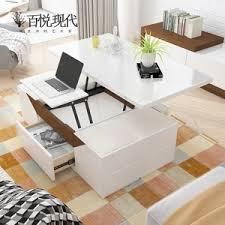 dual use furniture. use nordic multipurpose lifting folding coffee table  dualuse small apartment living room