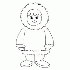 Eskimos Kleurplaten Leuk Voor Kids