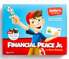Dave Ramsey Financial Peace Junior Kit For 9