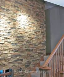stairway with faux stone wall panels interior uk interlocking