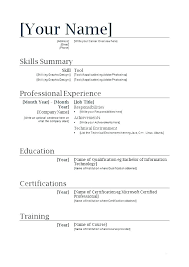 Job Skills On Resume Impressive First Resume Template Stunning Creating A Free Resume R How To Make