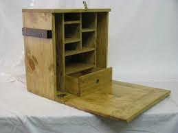 civil war wooden furniture field desk