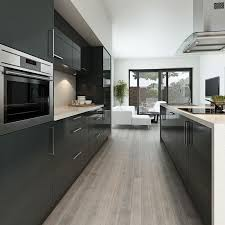 shining inspiration modern grey kitchen cabinets architecture