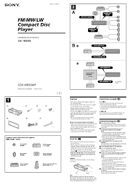 sony xplod cd player wiring diagram 54