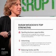 6 powerful women to inspire your next career move what are susan wojcicki s top strengths