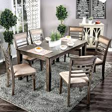 Kitchen Table Furniture Rustic Sets Round Dining With Chairs Tables