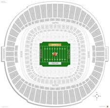 Superdome Seating Chart With Row Numbers New Orleans Saints Seating Guide Superdome Rateyourseats