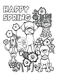 Spring Break Coloring Pages Spring Break Ng Sheets Printable For