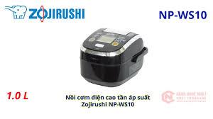 Nồi cơm điện cao tần áp suất Zojirushi NP-WS10 nội địa Nhật 2nd 94% -  YouTube
