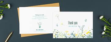 Wedding Thank You Notes Wedding Thank You Card Wording Ideas From Rosemood