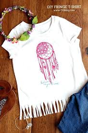 Dream Catcher Shirt Diy Diy Fringe Shirt Design Space Dream Catcher File A Heat Transfer 23