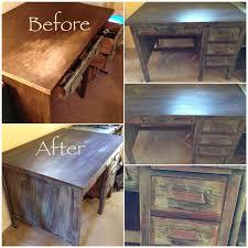 painted office furniture. Old Teachers Desk Painted Using Chalk Paint Office Furniture