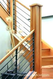 wooden stair railing wood stair railing kits interior railings modern black metal interior railings staircase from wooden stair railing