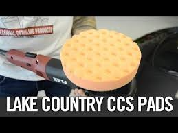 auto detailing buffing and polishing lake country ccs pads